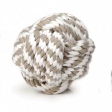 Beeztees giocattolo per cane palla di corda annodata
