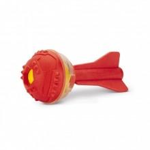 Beeztees palla a forma di shuttle in tpr giocattolo per cane