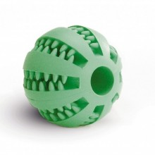 Beeztees pallina massaggiante denti in gomma giocattolo per cane