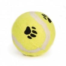 Beeztees giocattolo cane pallina da tennis con impronta