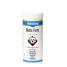 Canina Biotin forte integratore di biotina rinforzo pelo cane 60 compresse