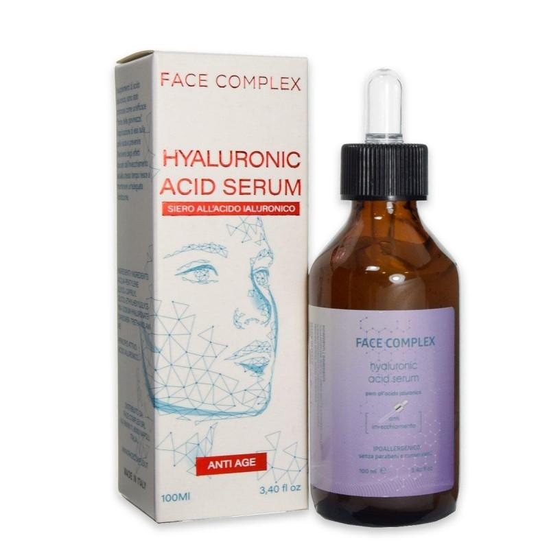 Siero acido ialuronico anti età contro invecchiamento Face complex