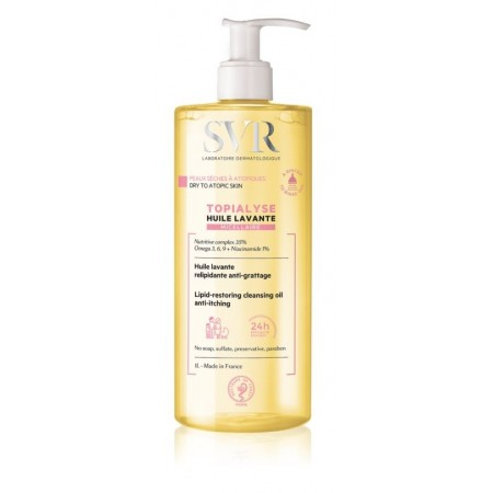 SVR Topialyse Huile olio detergente Lavante Micellare 1Litro
