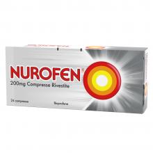 Nurofen 200 mg Ibuprofene - 24 Compresse Rivestite Antinfiammatorie