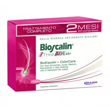 Bioscalin Tricoage 45+ Trattamento 2 Mesi 60 Compresse