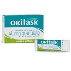 """Okitask """"40 Mg Granulato"""" 10 Bustine"""