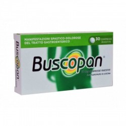 "Buscopan ""10 Mg Compresse Rivestite"" 30 Compresse Rivestite"