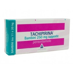 "Tachipirina ""Bambini 250 Mg Supposte"" 10 Supposte"
