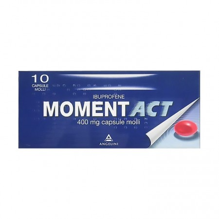 "Momentact "" 400 Mg Capsule Molli "" 10 Capsule"