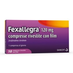 "Fexallegra ""120 Mg Compresse Rivestite Con Film"" 10 Compresse In Blister Pvc/Pvdc/Al"