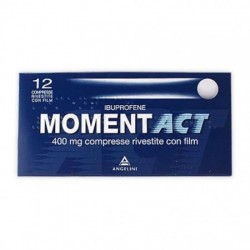 "Momentact ""400 Mg Compresse Rivestite Con Film"" 12 Compresse"