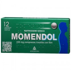 "Momendol ""220 Mg Compresse Rivestitecon Film"" 12 Compresse Rivestite"