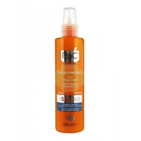 RoC Soleil Protect Lozione Spray Idratante SPF50 200mL