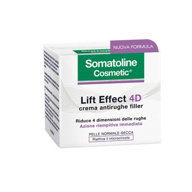 Somatoline Lift Effect Plus 4D crema antirughe filler