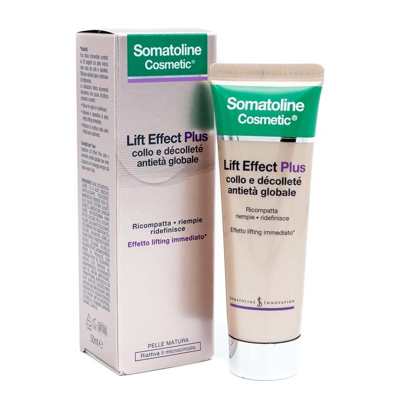Somatoline Lift Effect Plus antietà globale collo e décolleté