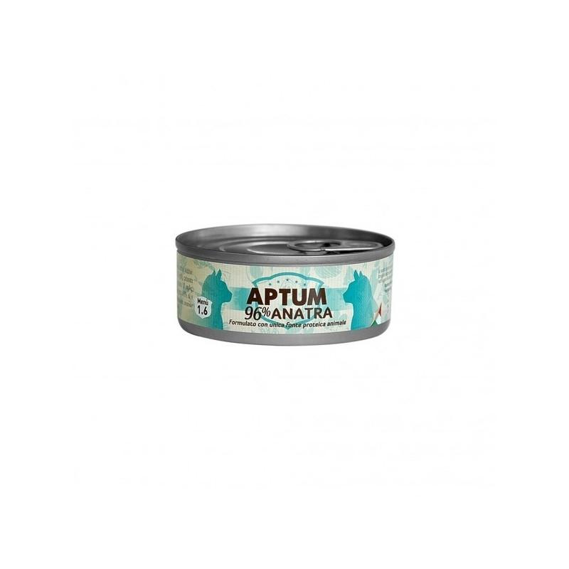 APTUM 10 lattine carne di anatra per gatti 85 grammi