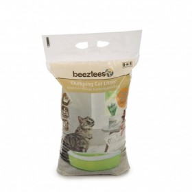 BEEZTEES lettiera terriccio profumato per gatti (7 kg)