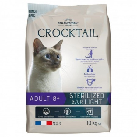 croccantini COCKTAIL pro nutrition per gatti sterilizzati 2 KG