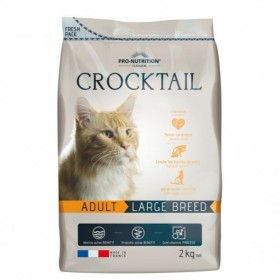 cocktail 2 kg croccantini per gatto adulto