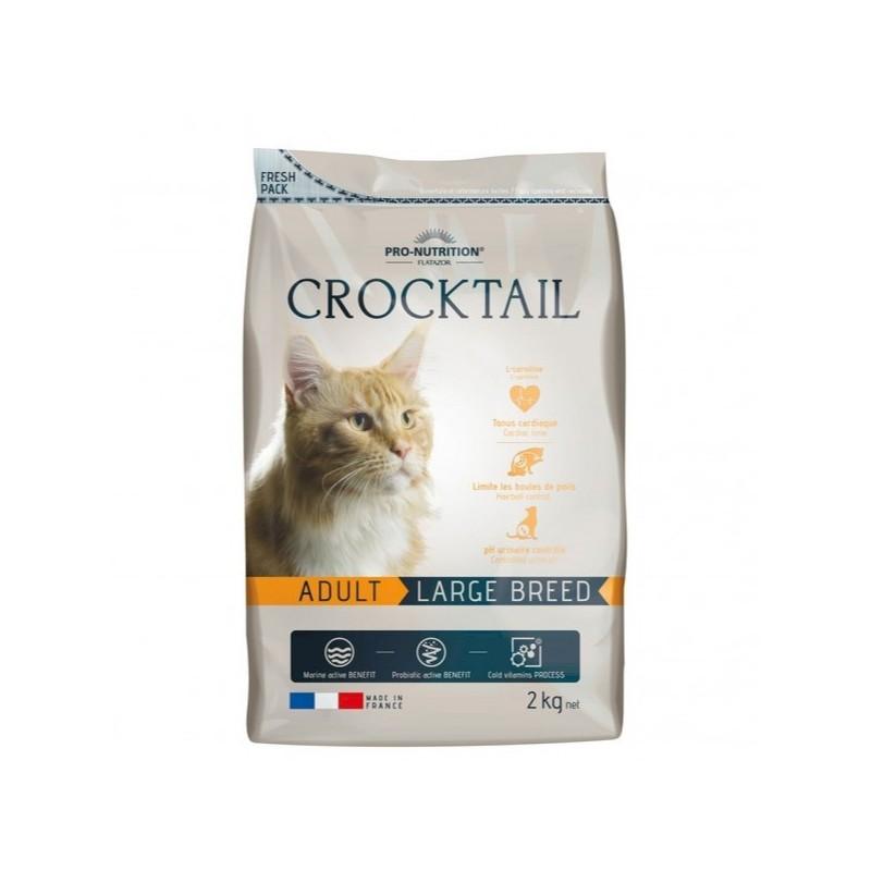 cocktail 2 kg croccantini per gatto adulto
