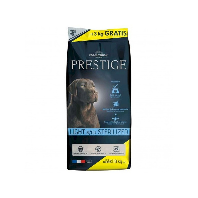 PRO NUTRITION PRESTIGE crocchette light per cani