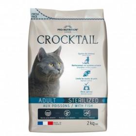 Croccantini COCKTAIL di pesce per gatti adulti sterilizzati
