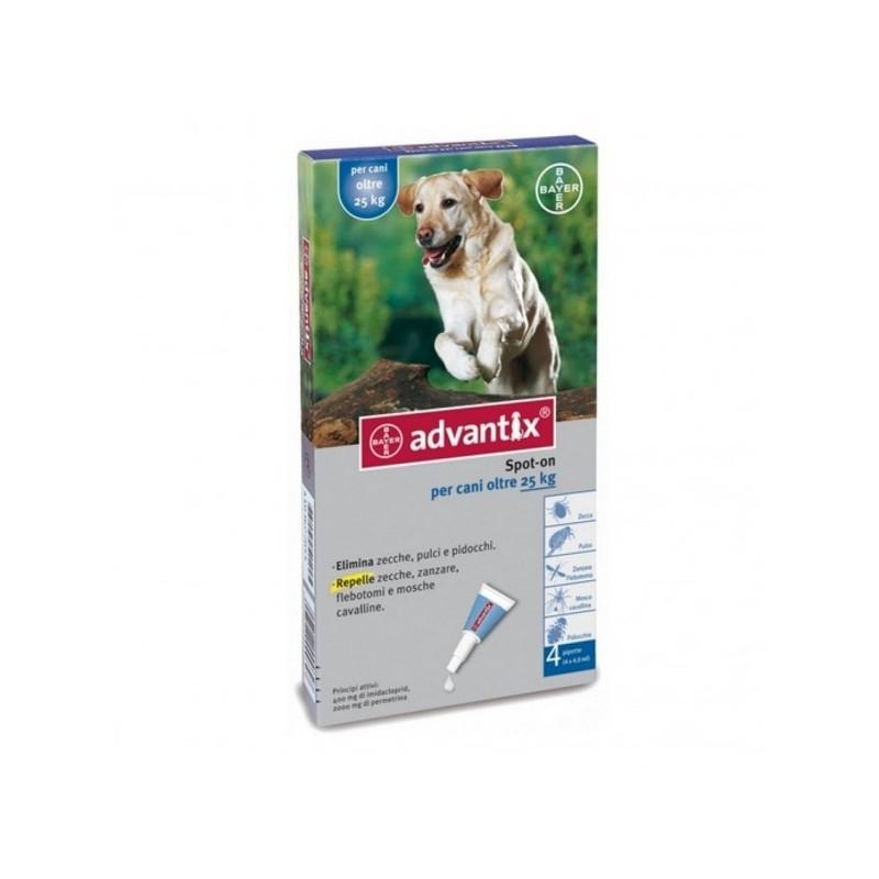 Bayer advantix antiparassitario per cane da 25 a 40 kg