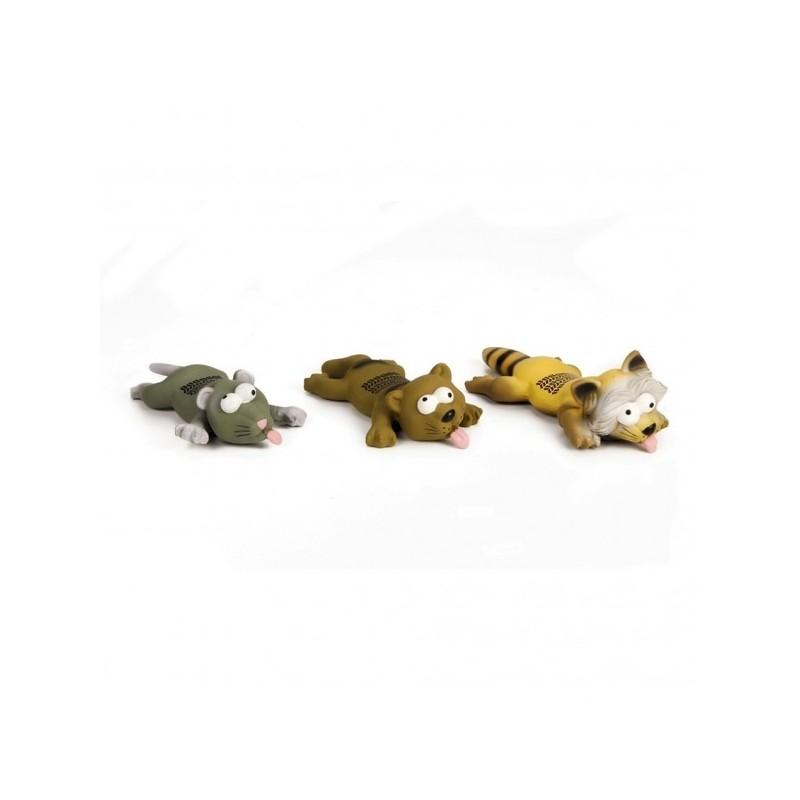 Beeztees giocattolo per cani a forma di animali piatti