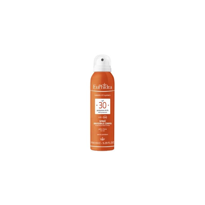 EuPhidra spray solare corpo protezione 30 UV
