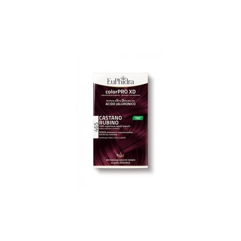 Euphidra colorPRO XD 465 colore Castano Rubino per capelli
