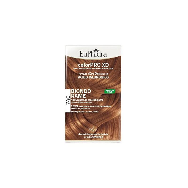 Euphidra ColorPRO XD 740 colore Biondo rame per capelli