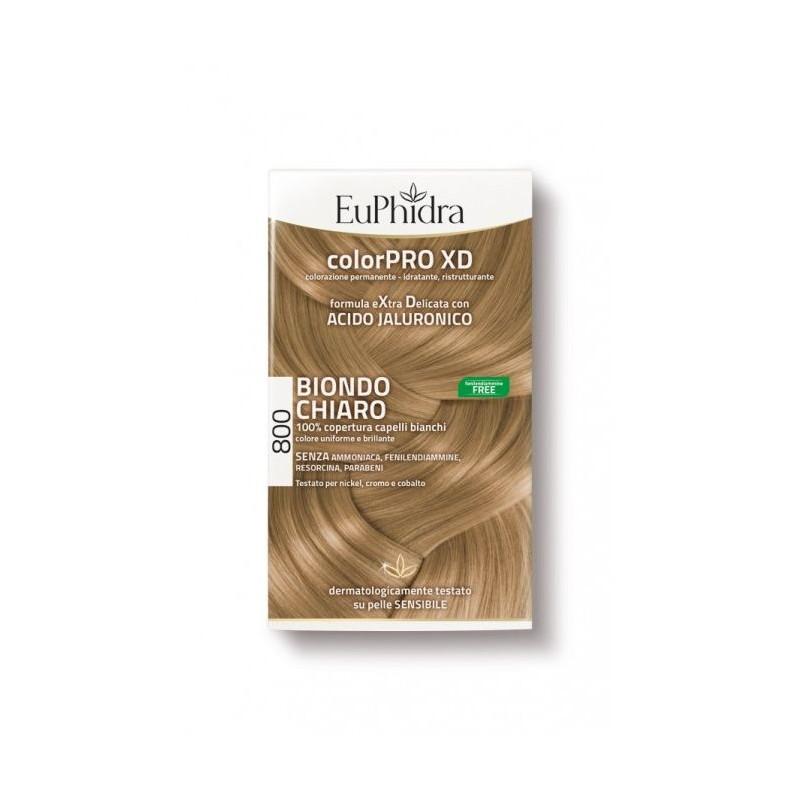 Euphidra ColorPRO XD 800 colore Biondo chiaro per capelli