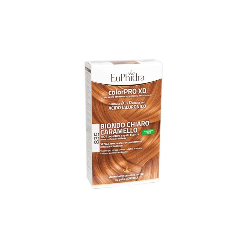 Euphidra ColorPRO XD 835 colore Biondo chiaro caramello per capelli