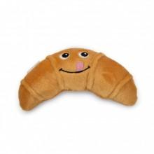 Beeztees cornetto croissant peluche giocattolo per cane